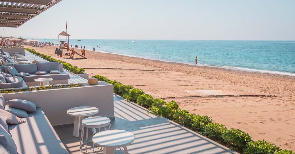 Beachbar am Quentin Restaurant im Paloma Orenda Resort